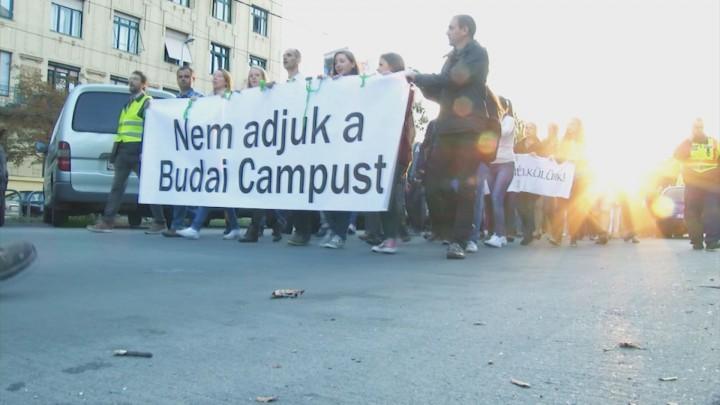 Ma mi, holnap ti – tüntetés a Corvinus szétdarabolása ellen